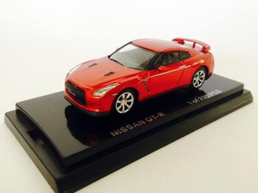 Nissan: GT-R - Vermelho - 1:64