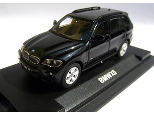 BMW: X5 - Preta - 1:64