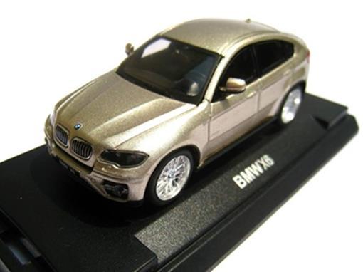 BMW: X6 - Dourado - 1:64