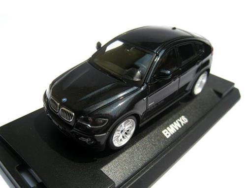BMW: X6 - Preta  - 1:64
