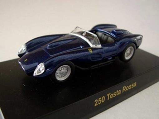 Ferrari: 250 Testa Rossa - Azul - 1:64 - Kyosho
