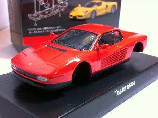 Ferrari: Testarossa - Vermelha - 1:64