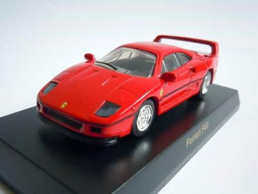 Ferrari: F40 - Vermelha - 1:64