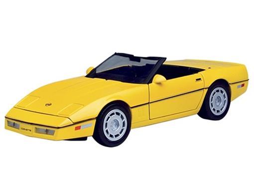 Chevrolet: Corvette Conversível (1986) - 1:24