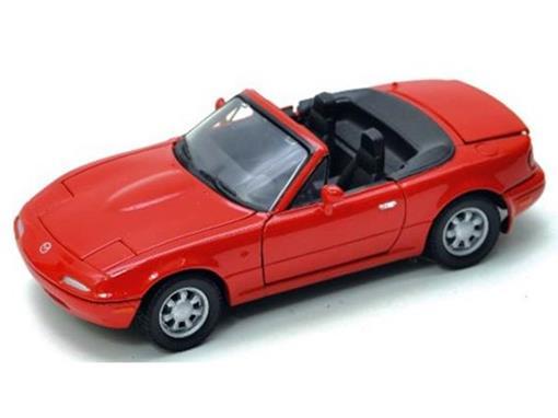 Mazda: MX 5 Miata - Vermelho - 1:24