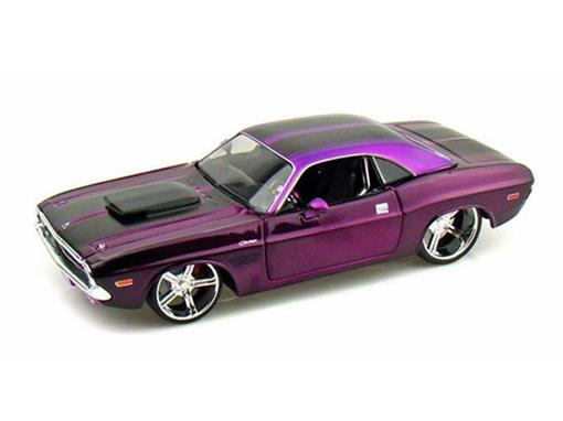 Dodge: Challenger R/T Coupé (1970) - Roxo - AllStars - 1:24
