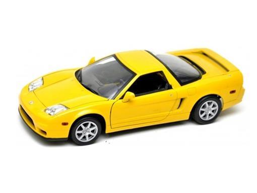 Honda: Acura NSX (2002) - Amarelo - 1:18 - Motor Max