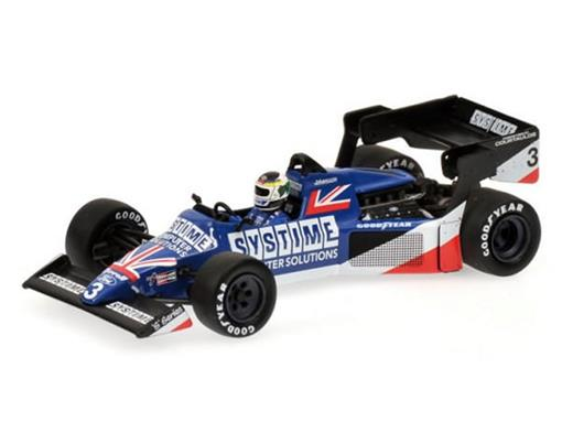 Tyrrell Ford: 012 S. Johansson - British GP (1984) - 1:43