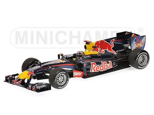 Red Bull Racing Renault: RB6 S. Vettel - Brazil GP 2010 - 1:43