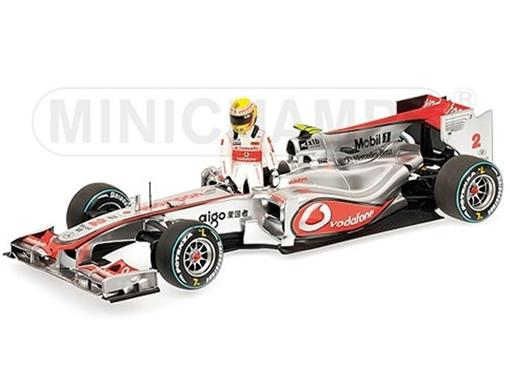Vodafone McLaren Mercedes: MP4-25 L. Hamilton (2010) - 1:43