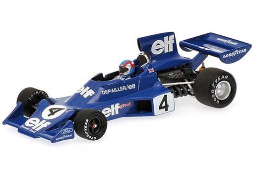 Tyrrell Ford: 007 - P. Depailler - (1974) - 1:43