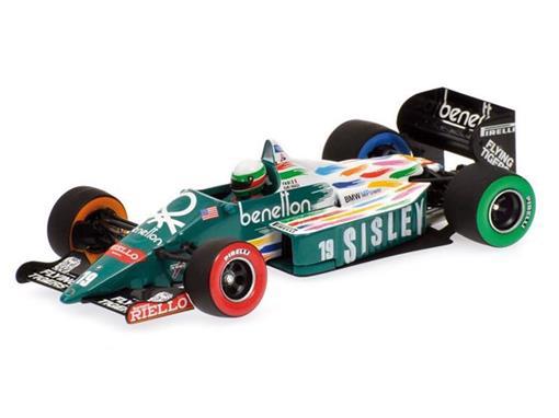 Benetton: BMW B186 - USA GP 1986 - T. Fabi - 1:43