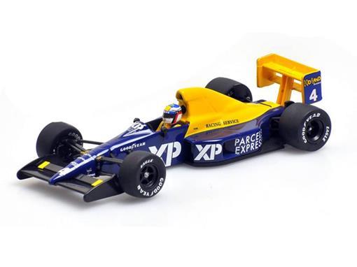 Tyrrell Ford: 018 Jean Alesi (1989) - 1:43