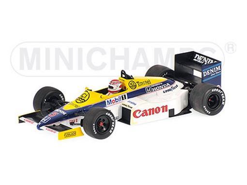 Williams Honda: FW10 (December, 1985) - N. Piquet - 1:43