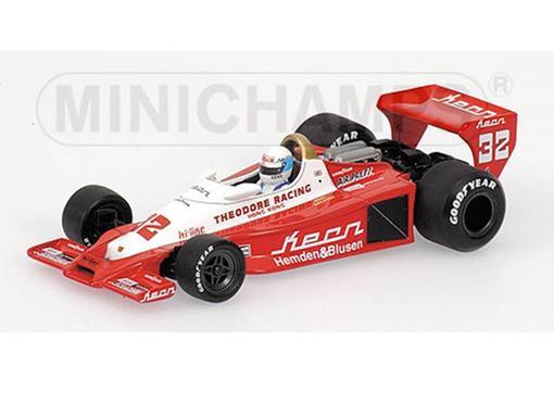 Theodoro Racing: Wolf Ford WR1 - Keke Rosberg (1978) - 1:43