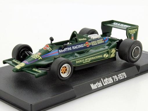 Lotus: 79 -  Carlos Reutemann Martini - 1979- 1:43