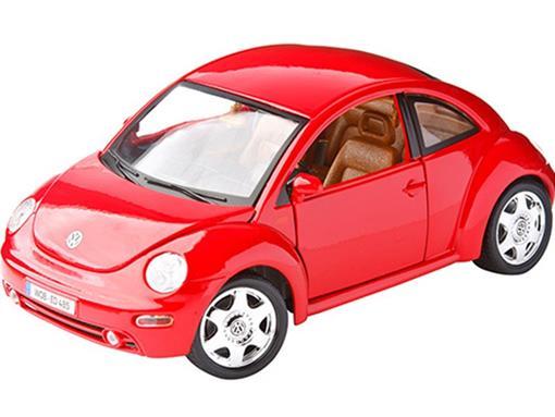 Volkswagen: New Beetle (1998) - Vermelho - 1:18