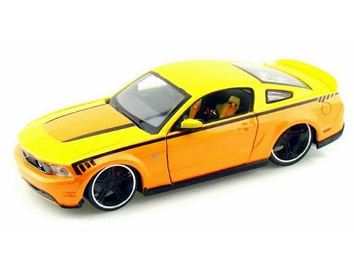 Ford: Mustang GT (2011) - Laranja - AllStars - 1:24 - Maisto