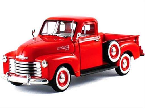 Chevy: Pickup Truck  (1953) - Vermelho - 1:32