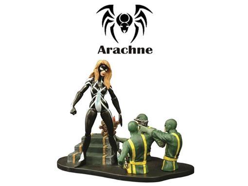 Boneco Arachne - Marvel Select