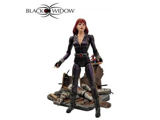 Boneco Black Widow (Viúva Negra) - Marvel Select