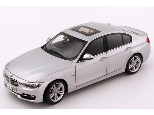 BMW: 3 Series / 335i - Prata - 1:18