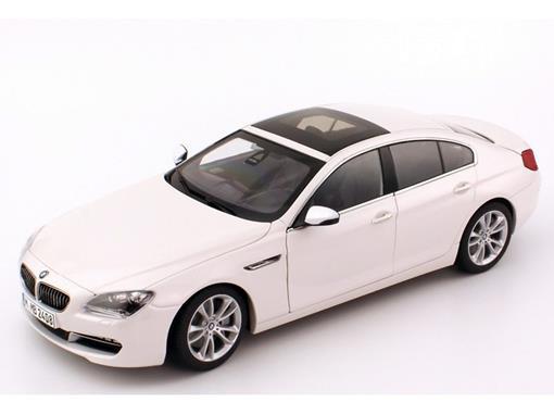 BMW: 6 Series Gran Coupé / 650i - Branco - 1:18