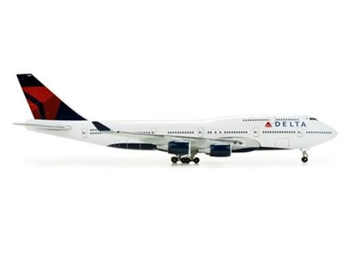 Delta Air Lines: Boeing 747-400 - 1:500