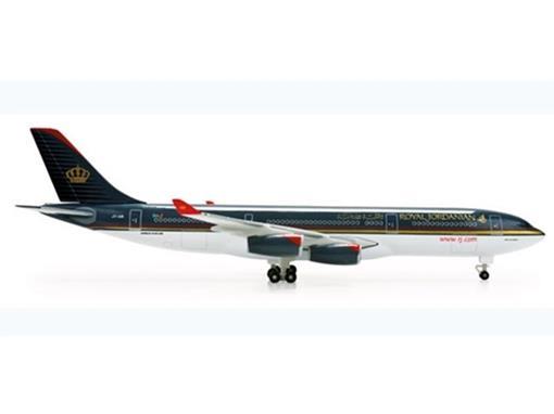 Royal Jordanian: Airbus A340-200 - 1:500