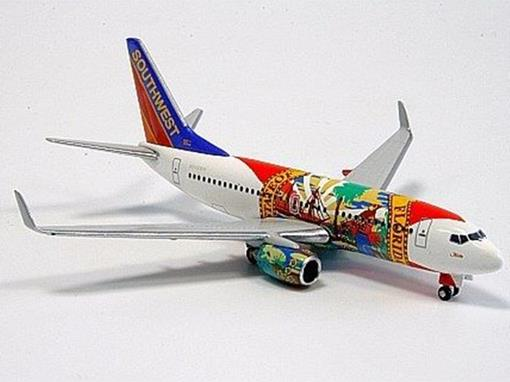 Southwest Airlines: Boeing 737-700 (Florida One) - 1:500