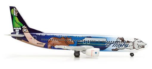 Alaska Airlines: Boeing 737-400 - 1:500
