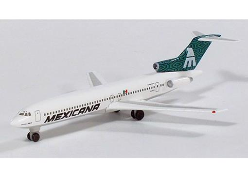Mexicana Airlines: Boeing 727-200 - 1:500