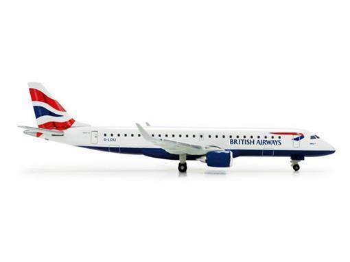 British Airways / BA Cityflyer: Embraer 190 - 1:500