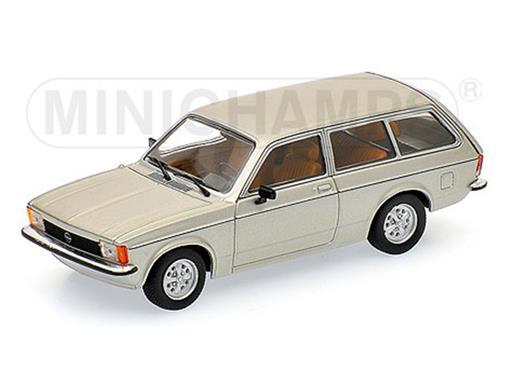 Opel: Kadett C Caravan (1978) - Prata Metálico - 1:43