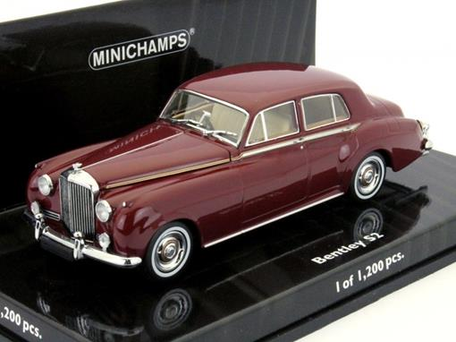 Bentley: S2 Standard Saloon  (1960) - Borgonha - 1:43