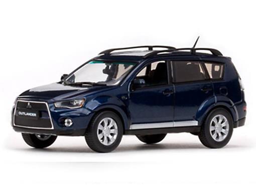 Mitsubishi: New Outlander - Azul Metálico - 1:43