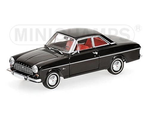 Ford: Taunus 12M Coupé (1962) - Preto - 1:43