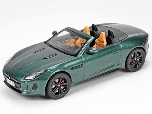 Jaguar: F-Type V8 S - Conversível - Verde - 1:43
