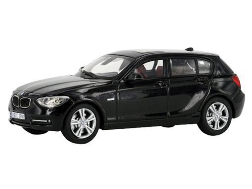 BMW: 125i F20 1 Series  - Preto - 1:43