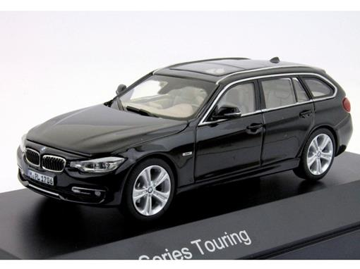 BMW: 3 Series Touring - Preto - 1:43