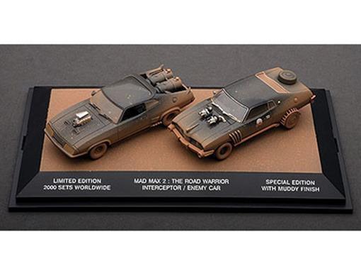 Set: Mad Max 2 - The Road Warrior Interceptor / Enemy Car - 1:43