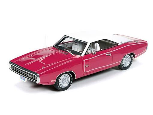Dodge: Charger R/T (1970) - Rosa/Branco - 1:43