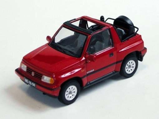 Suzuki: Vitara Conversível  (1992) - Vermelho- 1:43