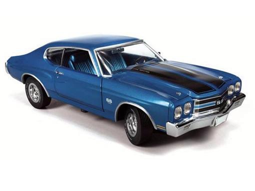 Chevrolet: Chevelle SS 454 (1970) - Azul - 1:43