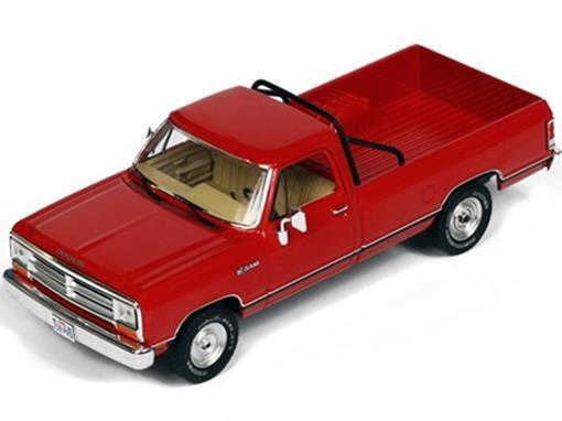 Dodge: Ram (1987) - Vermelha- 1:43
