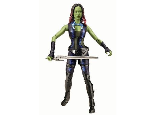 Boneco Gamora - Guardiões da Galáxia - Marvel Legends - Hasbro