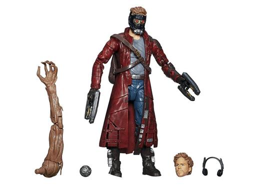 Boneco Peter Quill - Guardiões da Galáxia - Marvel Legends - Hasbro