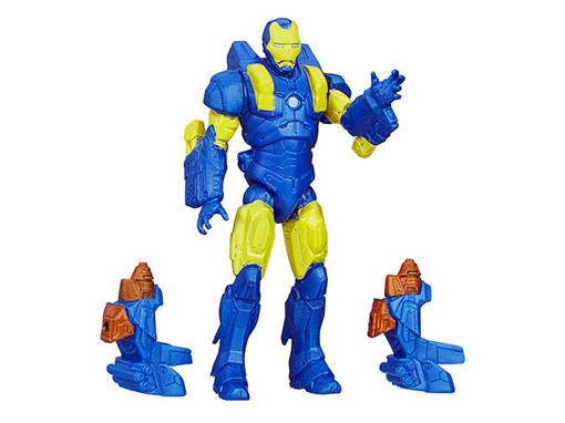 Boneco Voltstrike Iron Man - Avengers Assemble - 3.75
