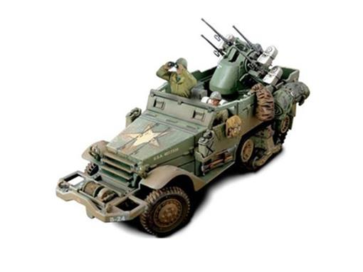 US Army: M16 Multiple Gun Motor Carriage (France, 1944) - 1:32