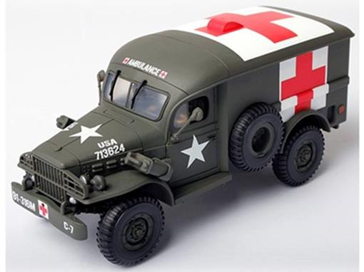 US Army: Dodge WC 54 4x4 Ambulance / Ambulância - 1:32